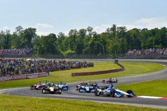 Graham Rahal, Rahal Letterman Lanigan Racing Honda, start