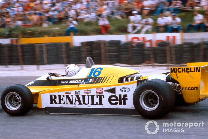 ...y ganó la siguiente carrera, la del GP de Sudáfrica 1980
