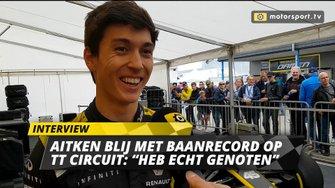 Jack Aitken interview Gamma Racing Day