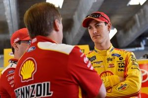 Joey Logano, Team Penske, mit Todd Gordon