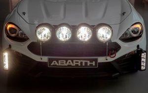 Abarth 124 rally 2019, dettaglio