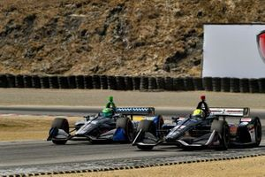 Конор Дэли, Andretti Autosport Honda, и Спенсер Пигот, Ed Carpenter Racing Chevrolet