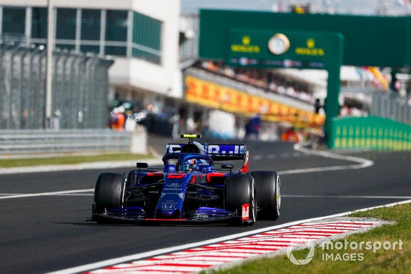 10° en el GP de Hungría... y despedida de Toro Rosso