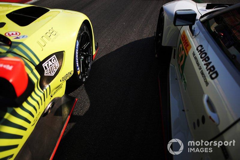 Aston Martin e Porsche