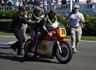 Barry Sheene Memorial Trophy Lee Johnstone
