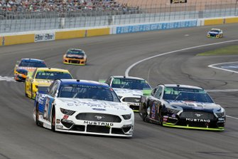 B.J. McLeod, Petty Ware Racing, Ford Mustang JACOB COMPANIES, Kevin Harvick, Stewart-Haas Racing, Ford Mustang Mobil 1