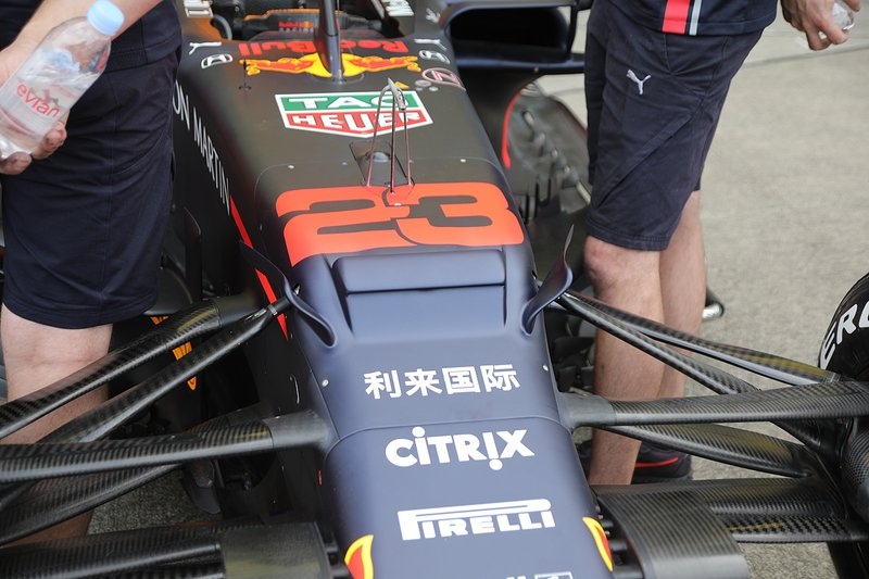 Red Bull Racing RB15 front detail