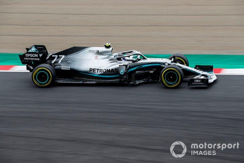 Azerbaycan: Valtteri Bottas, Mercedes AMG
