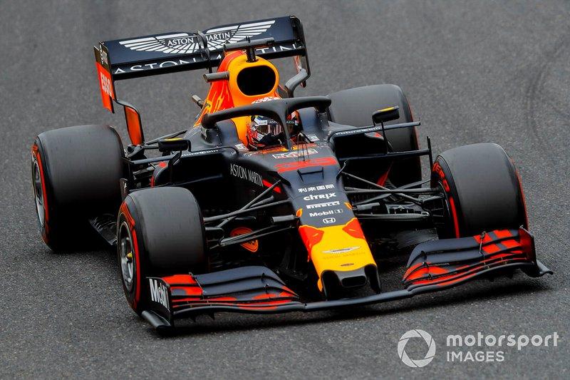 Macaristan: Max Verstappen, Red Bull Racing