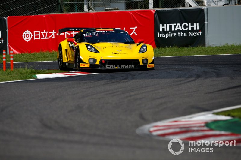 #37 Callaway Competition with BINGORACING Corvette C7 GT3-R: Shinji Takei, Ryo Ogawa, Markus Pommer