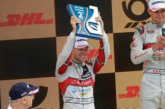 Podio: secondo classificato Robin Frijns, Audi Sport Team Abt Sportsline