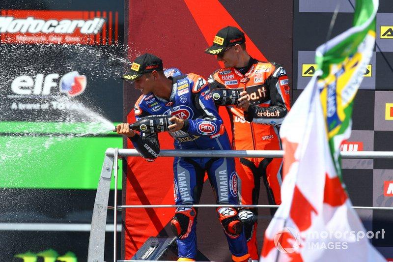 Michael van der Mark, Pata Yamaha, Chaz Davies, Aruba.it Racing-Ducati Team
