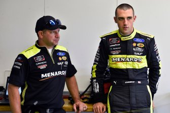 Austin Cindric, Team Penske, Ford Mustang Menards/Richmond and Brian Wilson