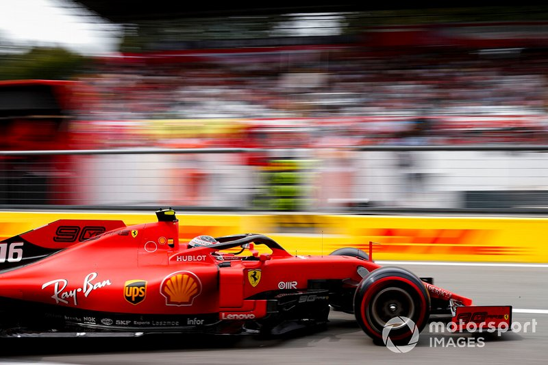 1 - Charles Leclerc, Ferrari SF90