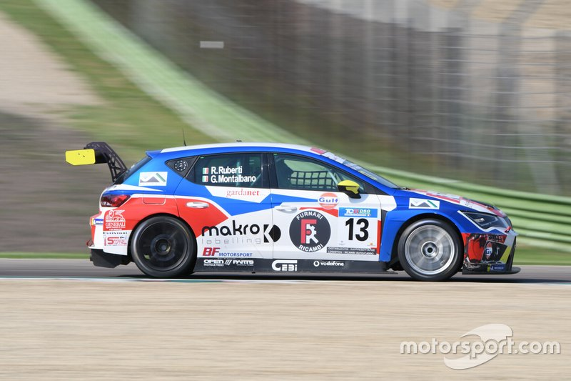 Giuseppe Montalbano, Riccardo Ruberti, Cupra TCR