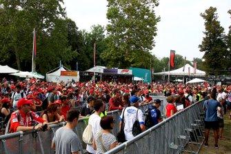 Fan al GP del Belgio