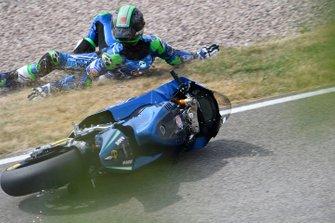 La chute d'Enea Bastianini, Italtrans Racing Team