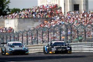 Jake Dennis, R-Motorsport, Aston Martin Vantage AMR, Bruno Spengler, BMW Team RMG, BMW M4 DTM