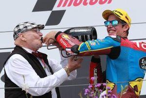 Marc VD Straten et Alex Marquez, Marc VDS Racing, vainqueur de la course