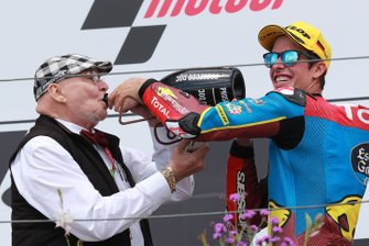 Marc VD Straten, y el ganador, Alex Marquez, Marc VDS Racing