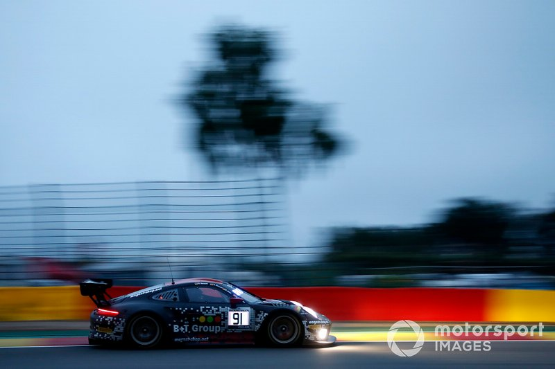 #91 Herberth Motorsport Porsche 911 GT3 R: Daniel Allemann, Ralf Bohn, Alfred Renauer, Robert Renauer