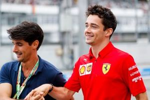 Lorenzo Tolotta-Leclerc and Charles Leclerc, Ferrari