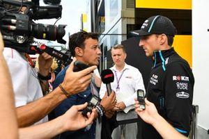 Robert Kubica, Williams Racing, parla con i media