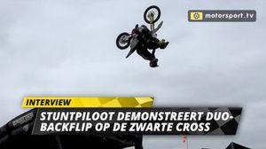 Duo-backflip Zwarte Cross persdag