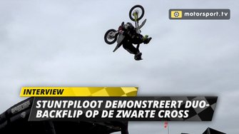 Duo-backflip Zwarte Cross persdag