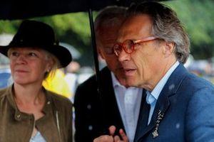 Lord March prima della celebrazione per Michael Schumacher