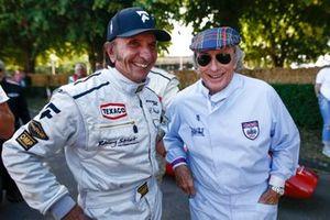 Emerson Fittipaldi and Sir Jackie Stewart