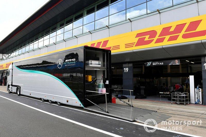 Mercedes AMG F1 truck