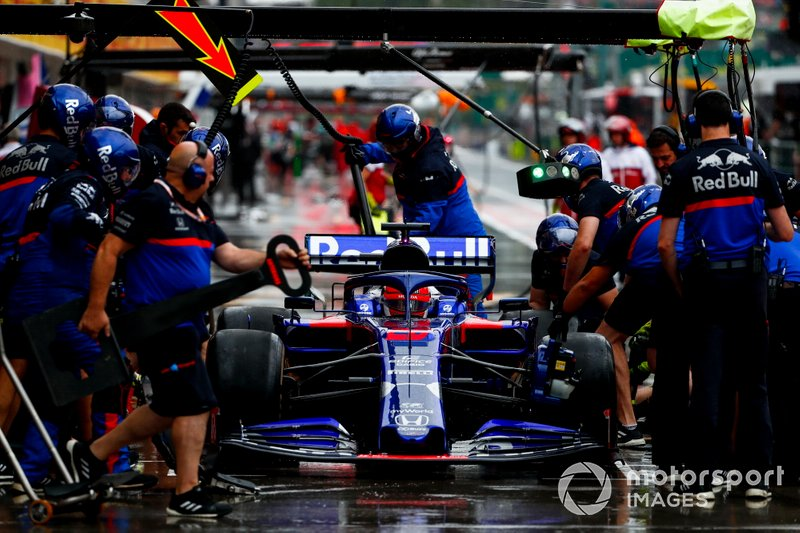 Пит-стоп: Даниил Квят, Scuderia Toro Rosso STR14