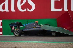 Andreas Estner, Jenzer Motorsport crashes
