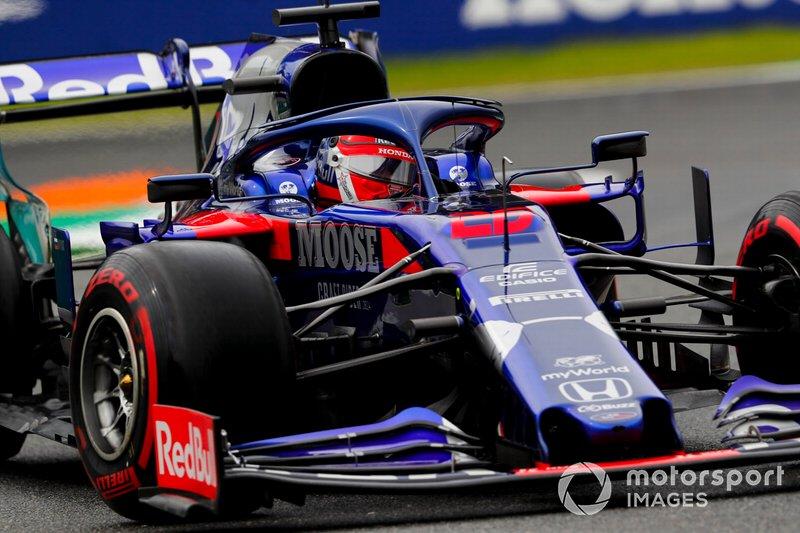 Abandonou - Daniil Kvyat, Toro Rosso STR14