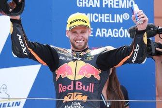 Podium: race winner Brad Binder, KTM Ajo