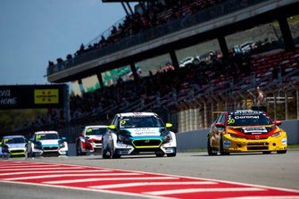 Josh Files, Target Competition Hyundai i30 N TCR, Tom Coronel, Boutsen Ginion Racing Honda Civic Type R