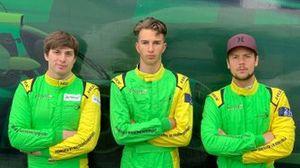 Jakub Śmiechowski, Lukas Dunner, adrien Tambay, Inter Europol Competition