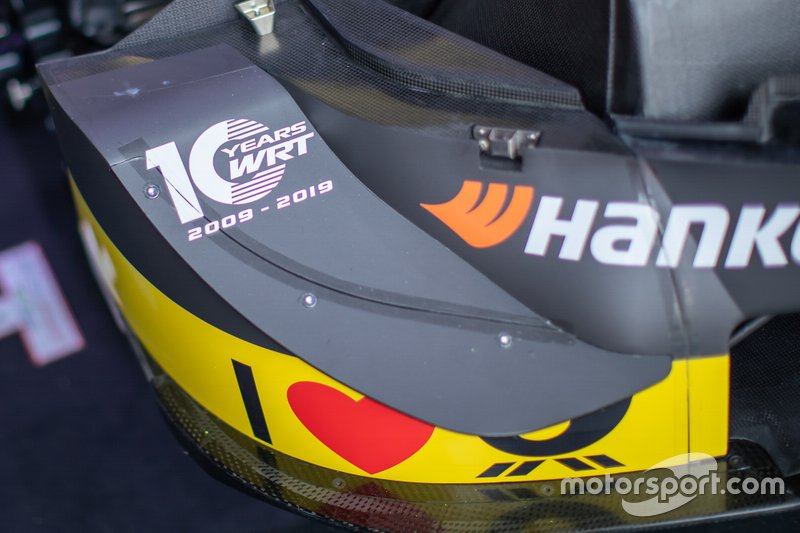 Detalle del coche de Pietro Fittipaldi, Audi Sport Team WRT, Audi RS 5 DTM