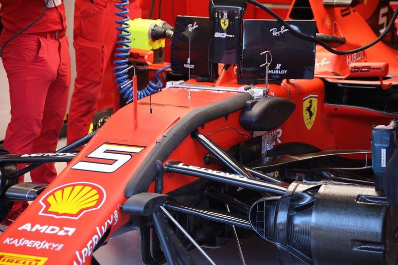 Ferrari SF90 de Sebastian Vettel