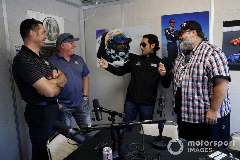 Marshall Pruett podcast celebrating the 20th anniversary of the death of Greg Moore. Paul Tracy, Max Papis, Dario Franchitti, Marshall Pruett and Mike Zizzo of IndyCar