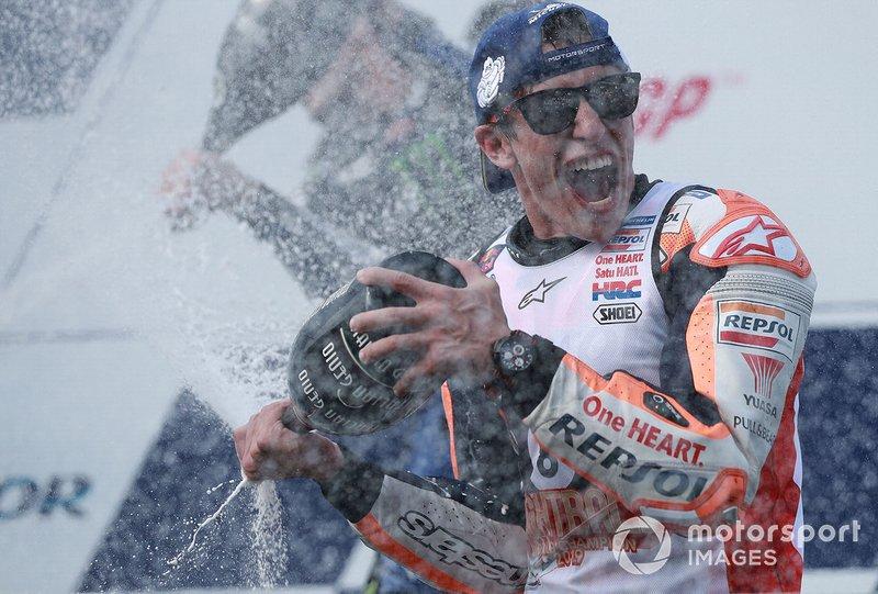 Podio: Marc Marquez, Repsol Honda Team