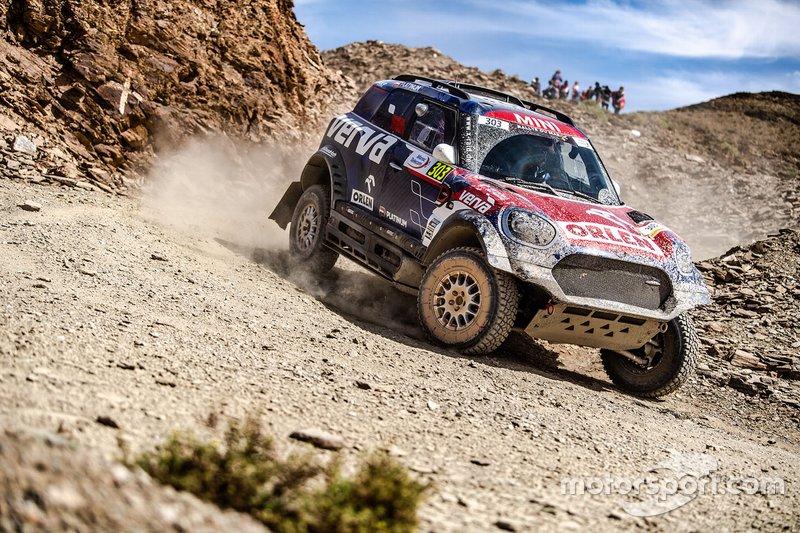 #303 X-Raid Team Mini: Jakub Przygonski, Timo Gottschalk