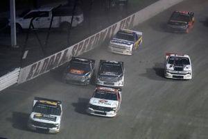 Sheldon Creed, GMS Racing, Chevrolet Silverado Chevrolet Accessories and Brett Moffitt, GMS Racing, Chevrolet Silverado Arlon Graphics