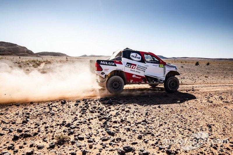 #304 Toyota Gazoo Racing Toyota Hilux: Bernhard Ten Brinke, Tom Colsoul