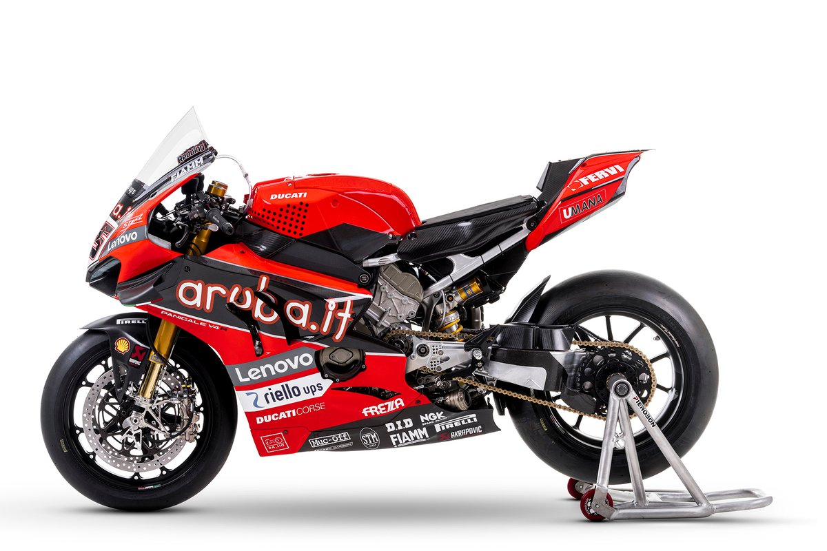 La moto di Scott Redding, Aruba.It Racing - Ducati