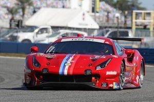#62 Risi Competizione Ferrari 488 GTE, GTLM: Alessandro Pier Guidi, Davide Rigon, Jules Gounon, James Calado