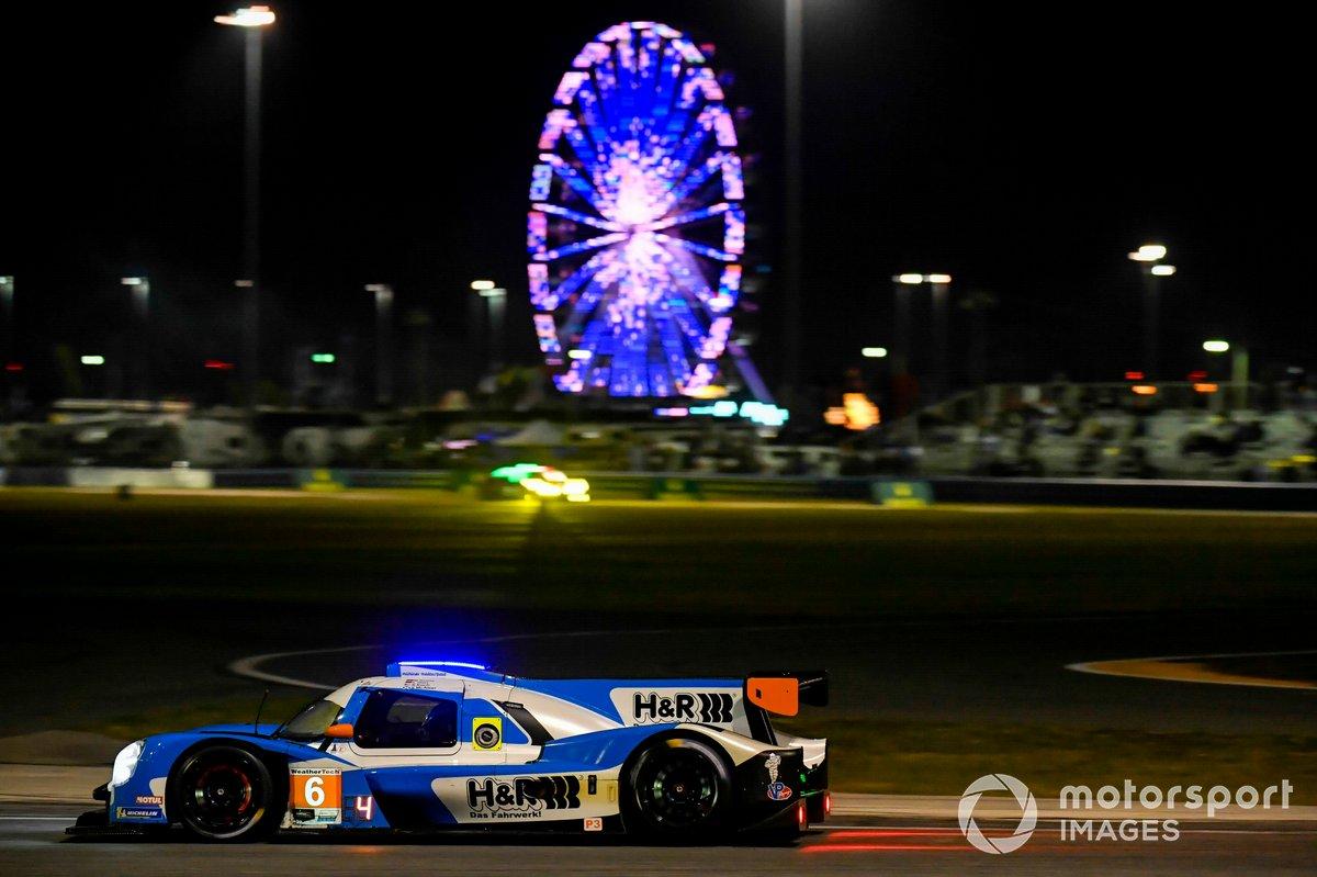 #6 Mühlner Motorsports America Duqueine M30-D08, LMP3: Moritz Kranz, Laurents Hoerr, Stevan McAleer, Kenton Koch
