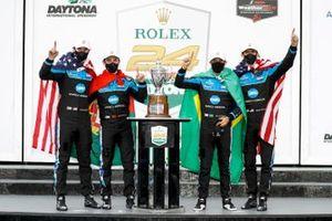Race Winner #10 Wayne Taylor Racing Acura ARX-05 Acura DPi: Ricky Taylor, Filipe Albuquerque, Alexander Rossi, Helio Castroneves