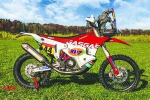 Bike of Laia Sanz, GASGAS Rally team